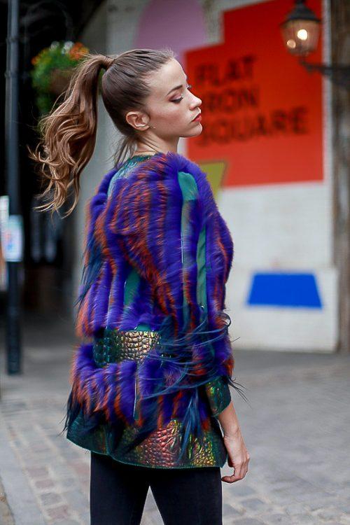 "<strong>Jacket <a href=""https://www.instagram.com/liskafashion/"">@liska</a><br/><a href=""https://www.farfetch.com/shopping/women/liska/coats-1/items.aspx"">Shop the fur style here</a></strong> Liska"