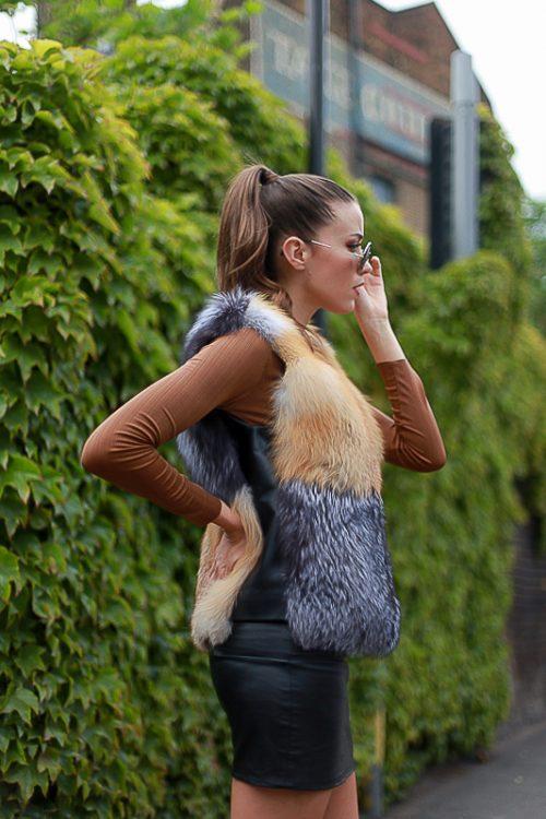 "<strong>Vest by The Fur Salon<br/><a href=""http://www.saksfifthavenue.com/main/fur_salon_landing.jsp"">Shop the fur style here</a></strong> Saks Fifth Avenue"