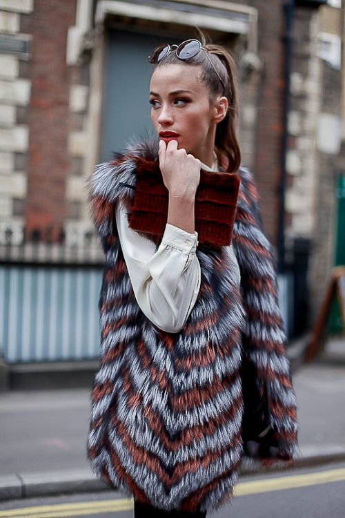 """<strong>""""Jessica"""" Reversible Fur Vest <a href=""""https://rachelzeitlin.com/collections/all"""">Shop the fur style here </a><br />Brown Notebook<br /><a href=""""http://www.rebeccabradleylondon.com/"""">Shop the fur style here</a></strong> Rachel Z, Rebecca Bradley"""