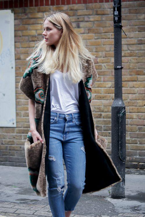 "<strong>Intarsia Mink Scarf<br /><a href=""https://www.instagram.com/yves_salomon/"">@yves_salomon</a><br /> <a href=""http://www.yves-salomon.fr/en/"">Shop the fur style here</a></strong> Yves Salomon"