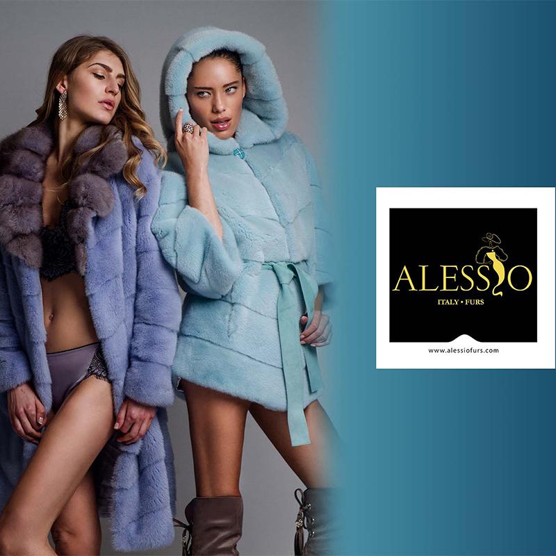 alessio furs shop fur Italy