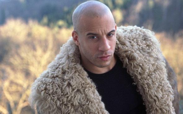 Vin Diesel in Fur