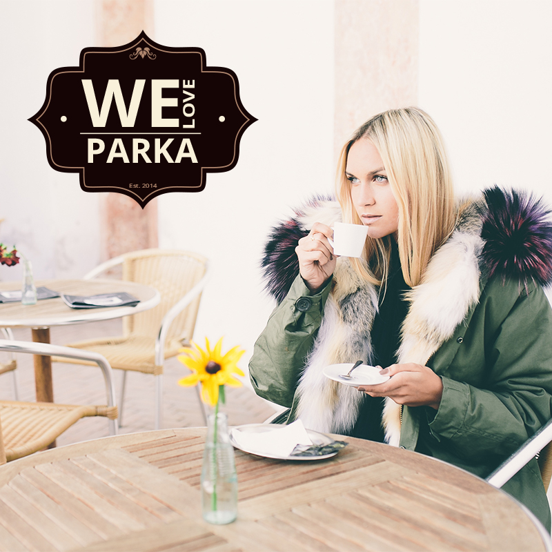 we love parka, fur design
