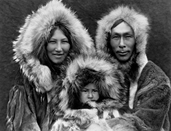 Inuit Family, Fur Fashion