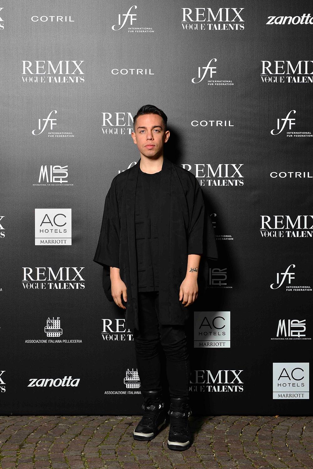 candidature pour le concours de mode avec fourrure remix 2018   semaine de la mode de milan