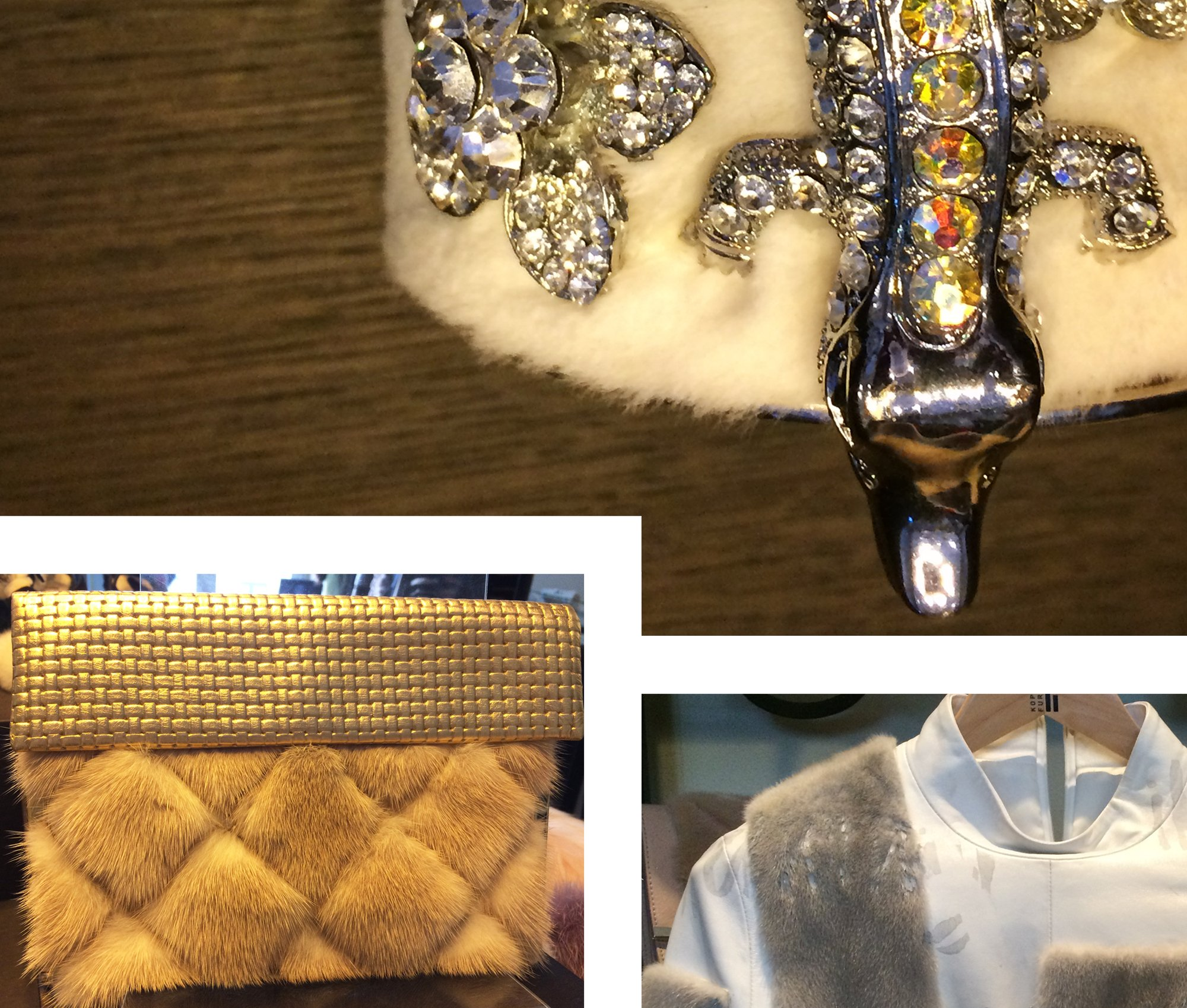 Kopenhagen Fur Studio, mink, jewelry, accesories, handbag, fashion design