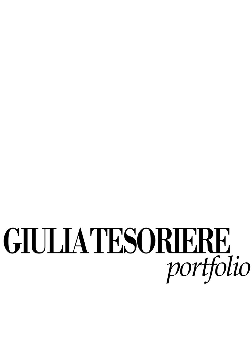 Giulia Tesoriere Portfolio