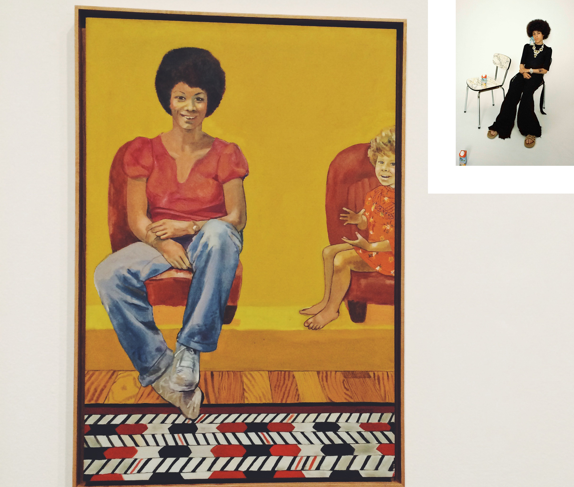Grace Wales Bonner, Emma Amos, Soul of a Nation, black power, London, art, exhibition, lifestyle