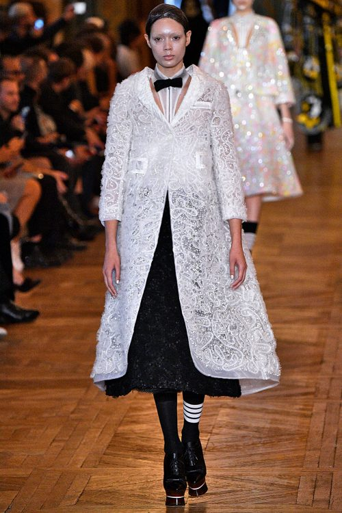 <strong></strong> 2018, Paris, Spring/Summer, Thom Browne, Womenswear
