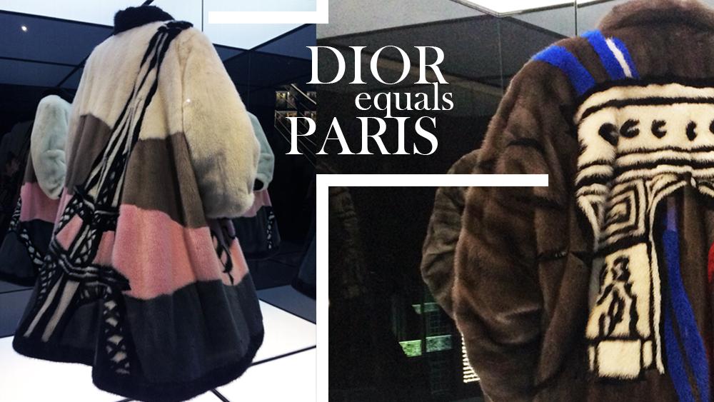 Dior, Frederic Castet, mink, Saga