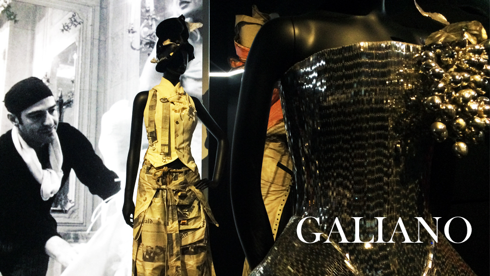 John Galliano, Dior, Paris, fashion, design, exhibition