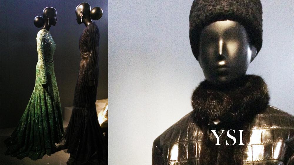 Yves Saint Laurent, Dior, haute couture, mink