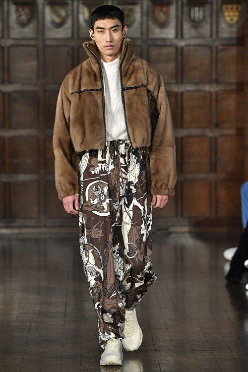 <strong>Edward Crutchley London Fashion Week Men Fall Winter 2018-19 London January 2018</strong> 2018, Edward Crutchley, Fall/Winter, London, Menswear