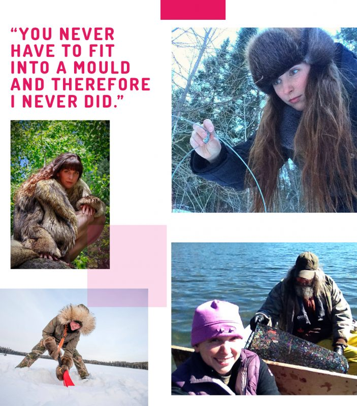 fur, Katie Ball, trapping, design, wild fur