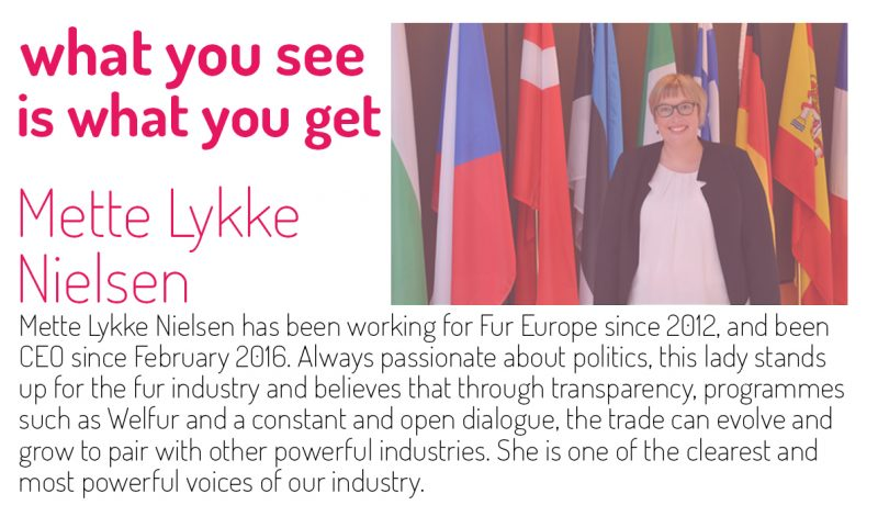 fur, Mette Lykke Nielsen, legislation, Fur Europe