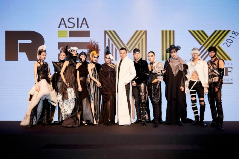 Alexander-king-chen-with-his-collection-at-asia-remix