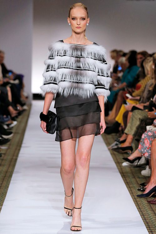 <strong></strong> 2019, Dennis Basso, New York, Spring/Summer, Womenswear