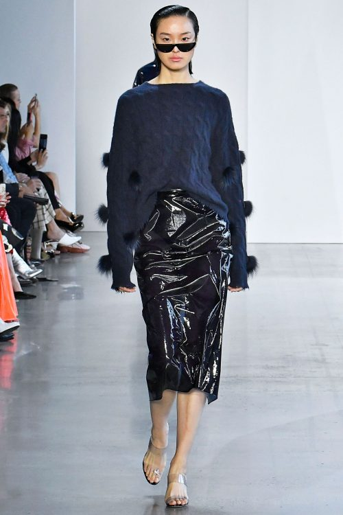 <strong></strong> 2019, New York, Sally Lapointe, Spring/Summer, Womenswear