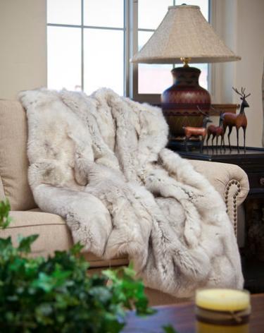 natural-fur-blanket-over-sofa